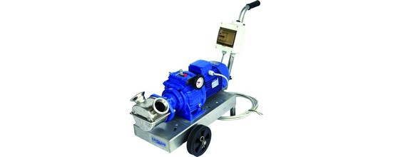 Pompa con motovariatore - Trolese, forniture enotecniche ed industriali