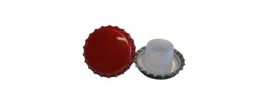 Tappi corona con bidules - Trolese, forniture enotecniche ed industriali
